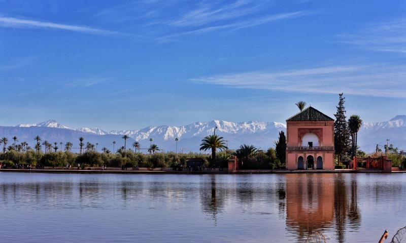 los Jardines de la Menara, Marrakech.
