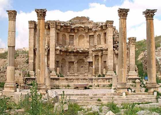 Nymphaeum Temple of jerash
