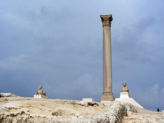 Pompey's Pillar in Alexandria