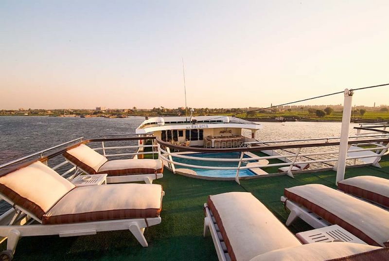 MS Salacia Nile cruise | Best Nile Cruise