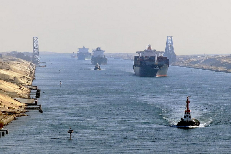 the suez canal in egypt was Suez canal, arabic qanāt al-suways, sea-level waterway running north-south across the isthmus of suez in egypt to connect the mediterranean and the red seas the canal separates the african continent from asia, and it provides the shortest maritime route between europe and the lands lying around the indian and western pacific oceans.