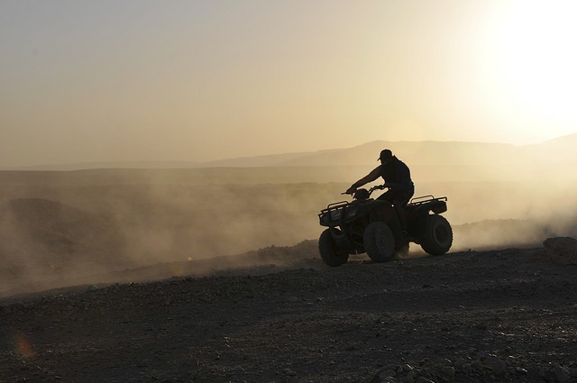 Quad Biking experience during the Sunset