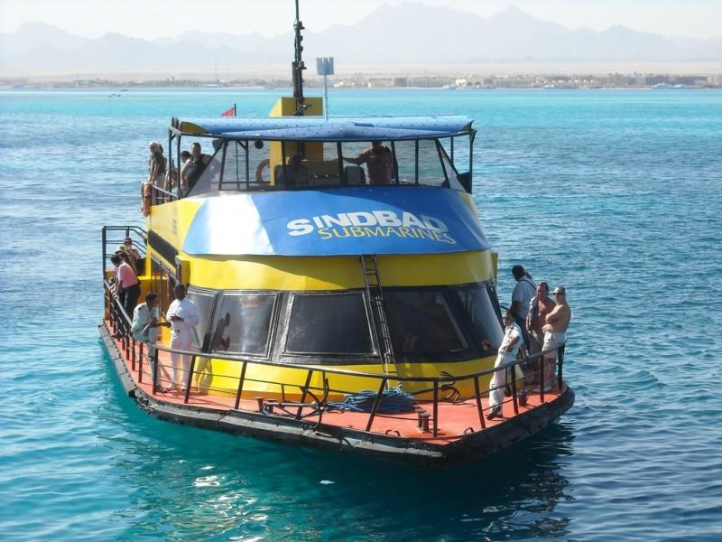 Tour Semi Submarino en Sharm