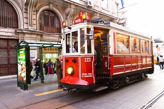 Tram Traditionnel à Istanbul