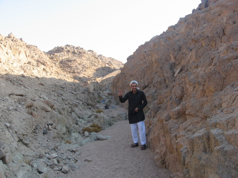 Experience the Bedouin life in Sinai Desert