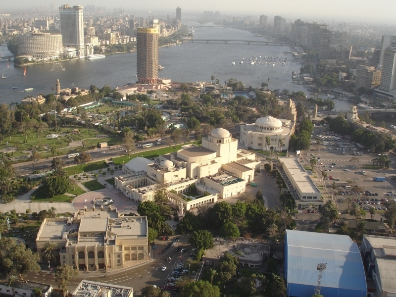 Zamalek Area and Cairo Opera House, Downtown