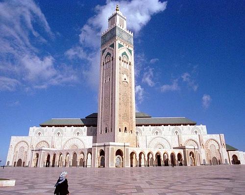Mesquita de Hassan II, Casablanca.