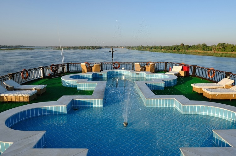 Swimming Pool on Misr Steamer Cruise