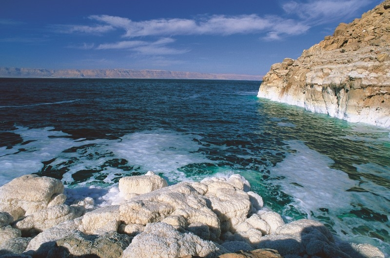 Salty Water of the Dead Sea