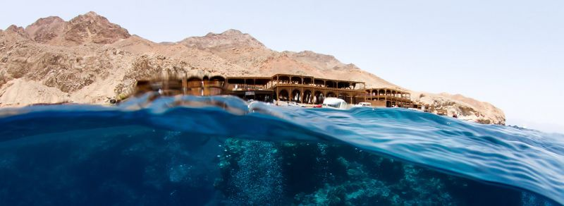 The Infamous Blue Hole in Dahab