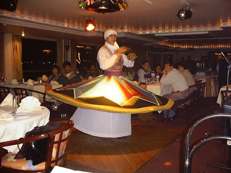 Tanora Show On The Lunch Cruise, Cairo Nile