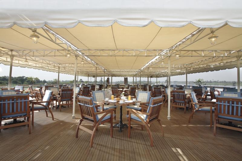 Sonesta St. George Nile Cruise Sundeck
