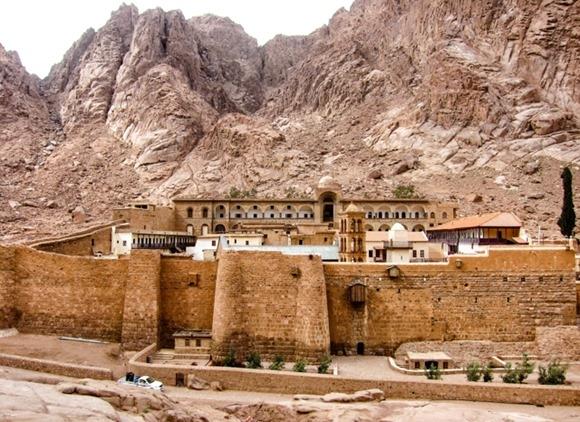 St. Catherine Monastery in Sinai Mountain