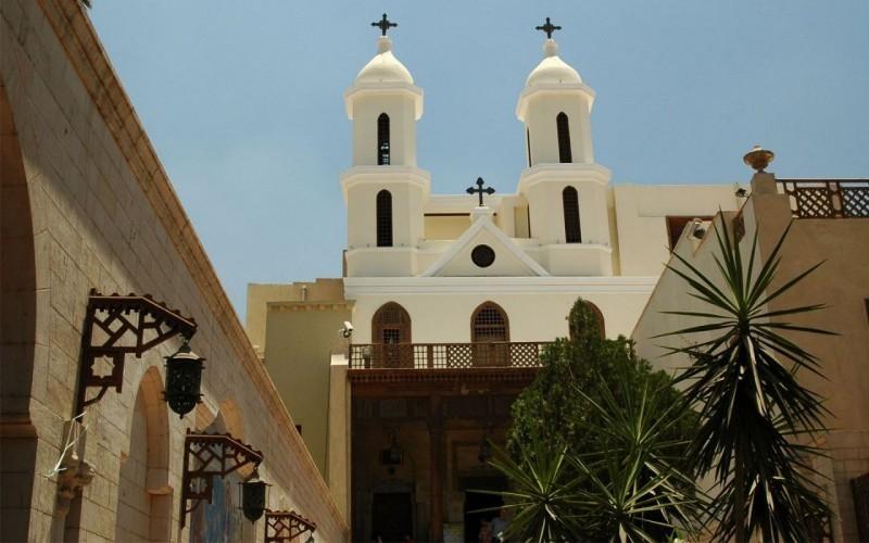Église Suspendue, Le Caire copte