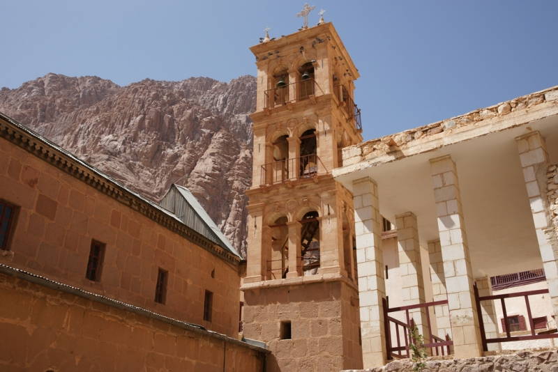 St. Catherine Monastery from Inside, Egypt