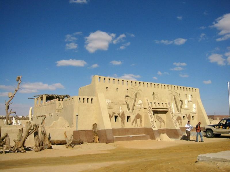 Badr Museum, Farafra Oasis, Western Desert in Egypt