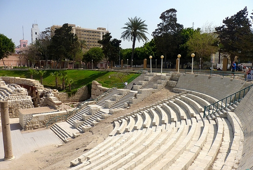 Roman Amphitheatre in Alexandria | Egypt