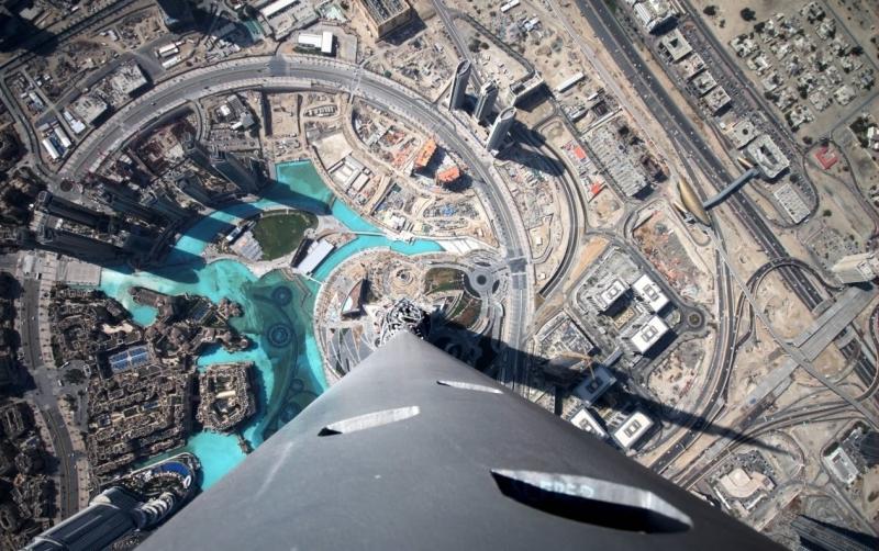 Panorama dalla Cima di Burj Khalifa