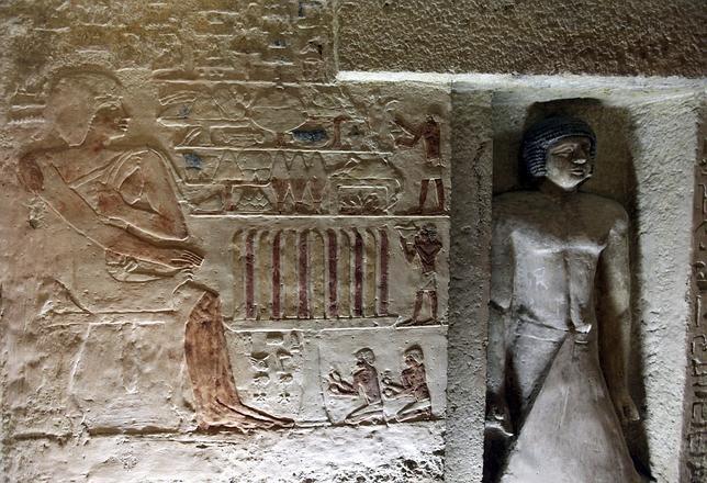 La Pirámide de Kefrén por dentro