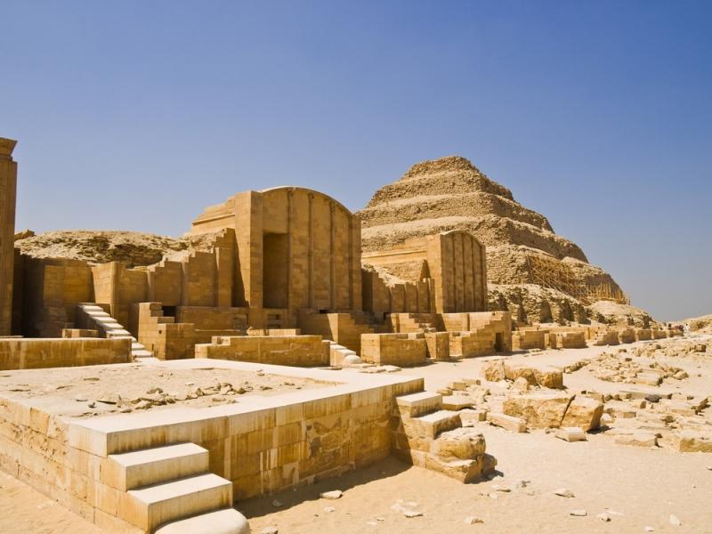 Sakkara Complex in Giza