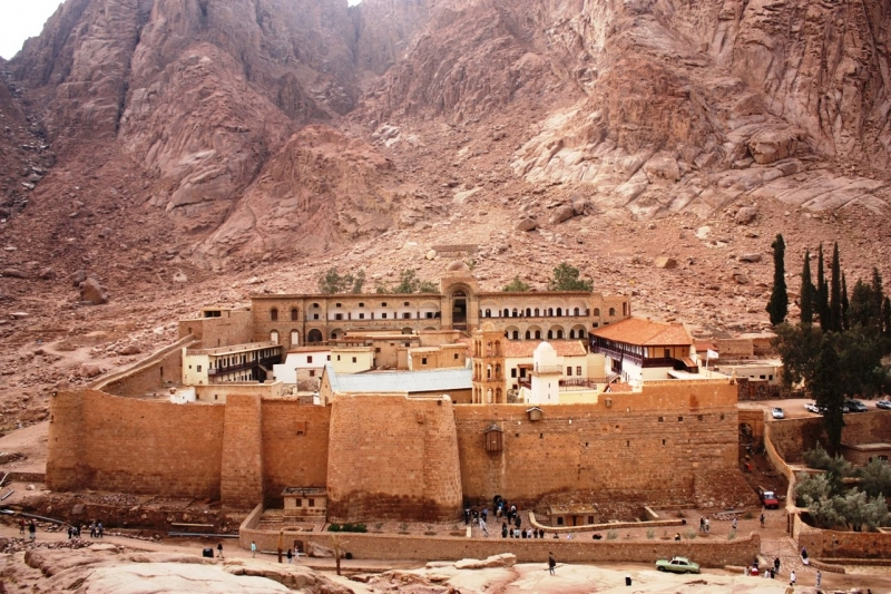 St. Catherine Monastery and Mount. Moses, Egypt