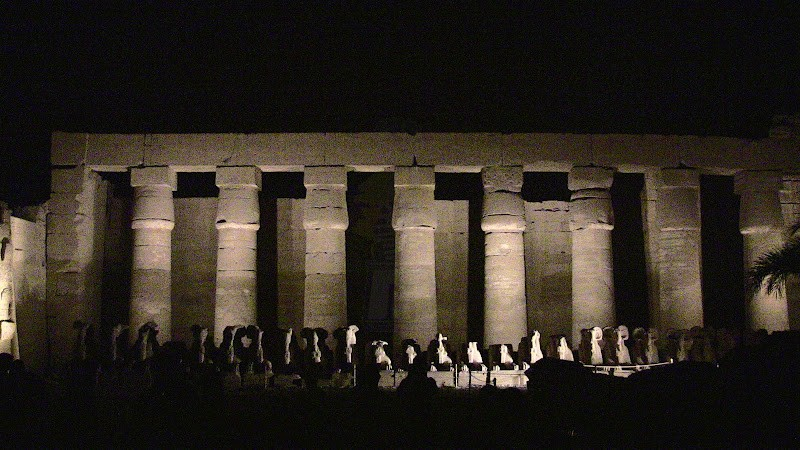 Sound and Light Show, Karnak Temples