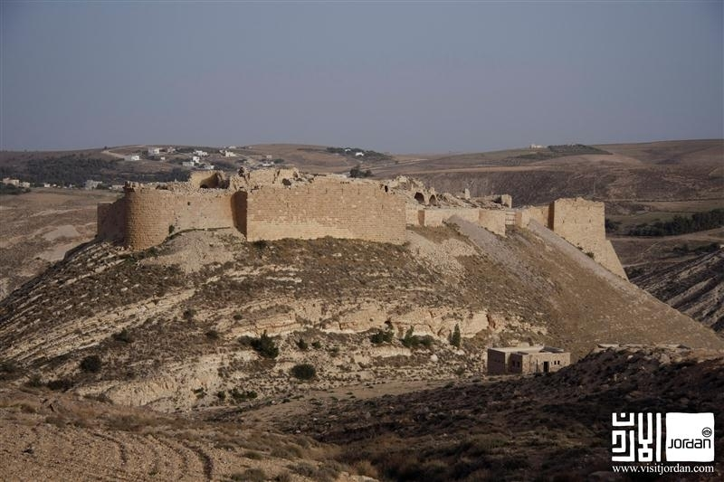 Shobak Castle in Maan