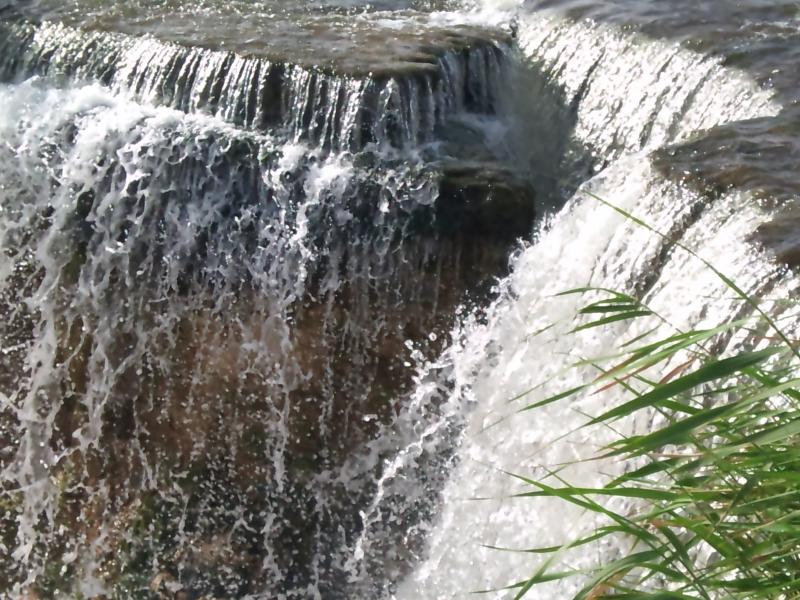 Waterfalls at Wadi El Rayan