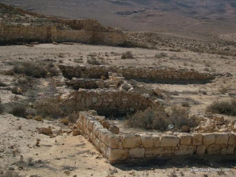 Mamshit - Cidade dos Nabateus