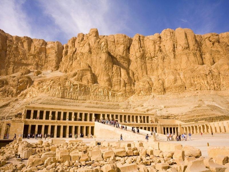 Tempio della Regina Hatshepsut, Riva Ovest di Luxor