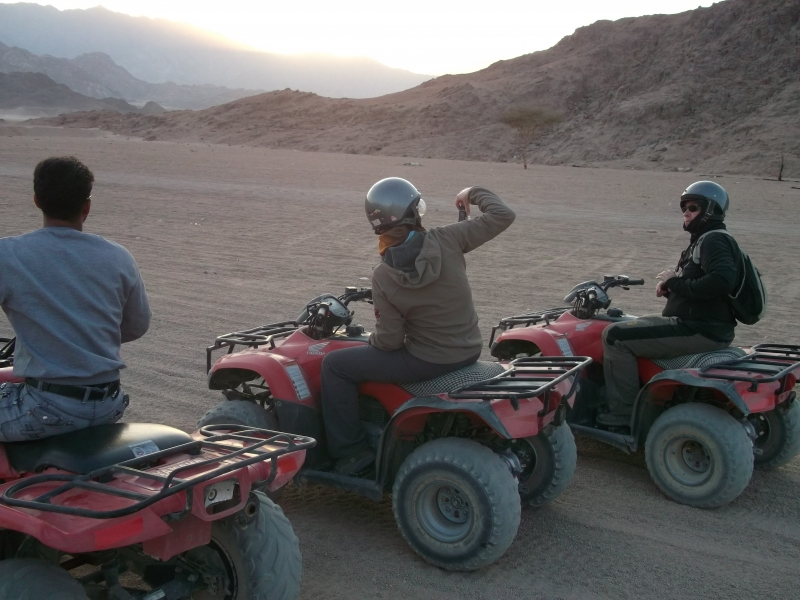 Quad Biking in Sinai Desert