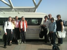 Service de transport privé de/vers l'aéroport du Caire