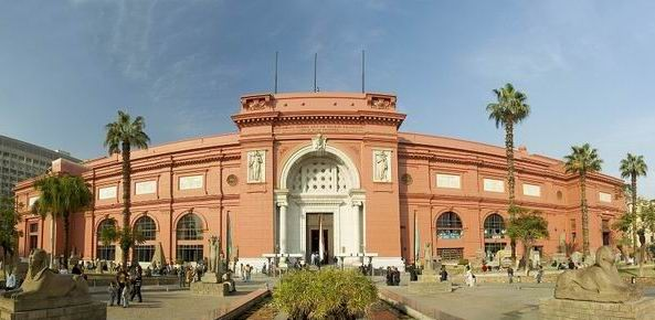 Egyptian Museum at Tahrir Square, Cairo