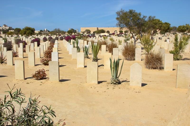 World War II Cemeteries in Al Alamein, Egypt