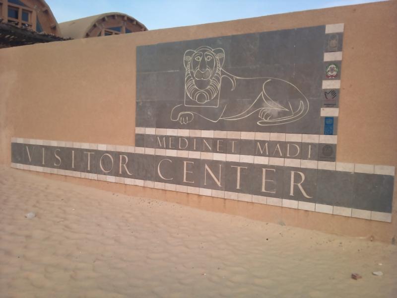 Ciudad de Madi en Fayoum oasis, Egipto