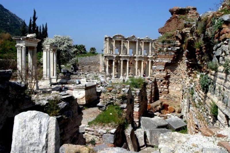 Ruinas de la Antigua ciudad de Éfeso