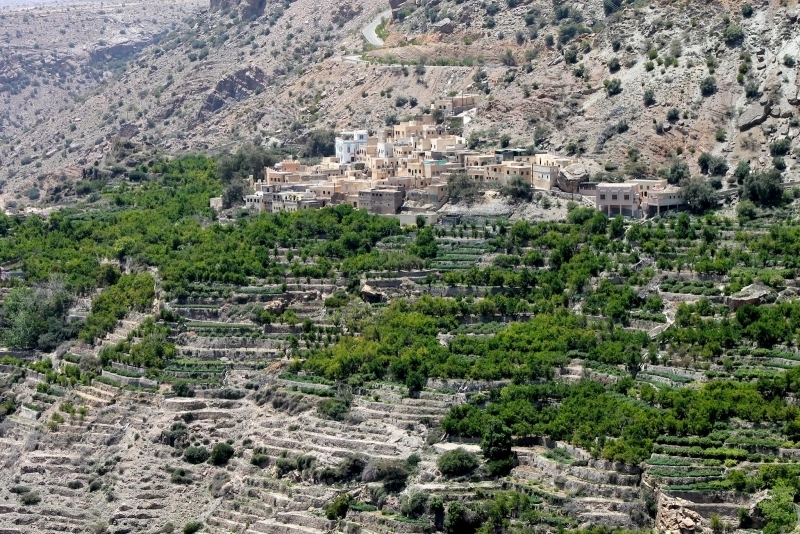 Jebel Akhdar Green Mountain