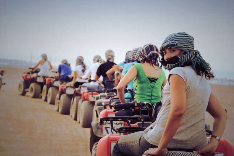 Quad Bike Safari Adventure, Hurghada