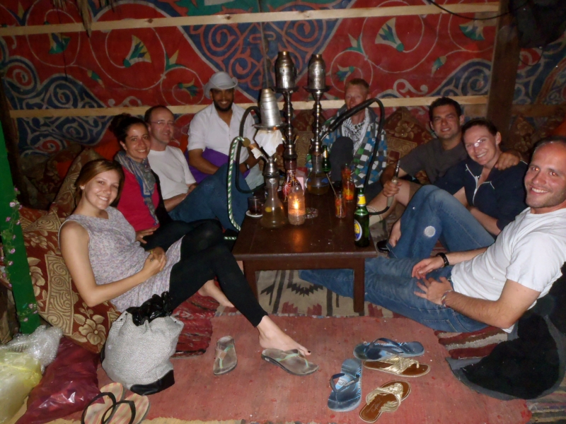 Traditional Hookah Water Pipe in Hurghada - Safari Trip
