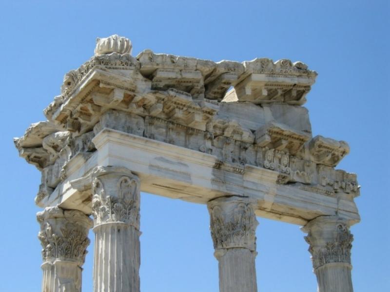 El templo de Bergama