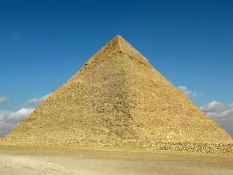 La piramide di Khafra, Necropoli di Giza