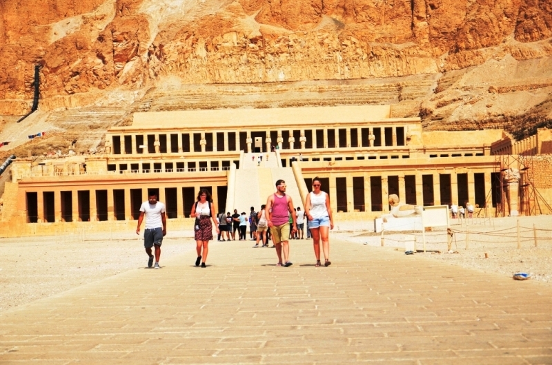 Queen Hatshepsut Temple, Egypt
