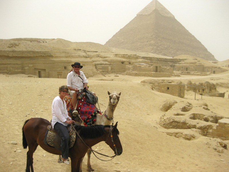 Horse Riding at Pyramids of Giza