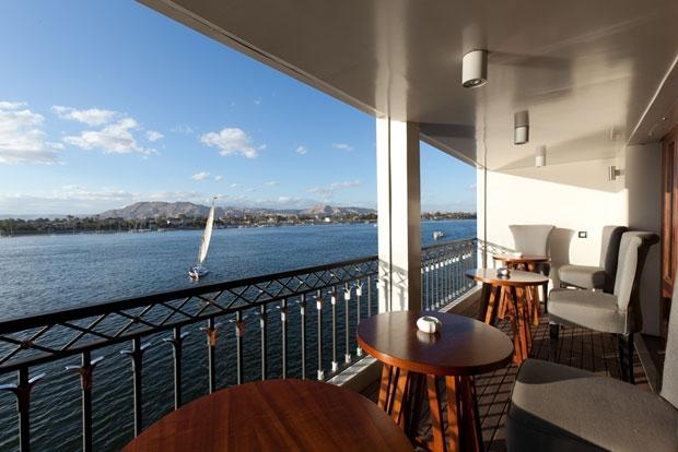 MS Mayfair Nile Cruise Panorama Area