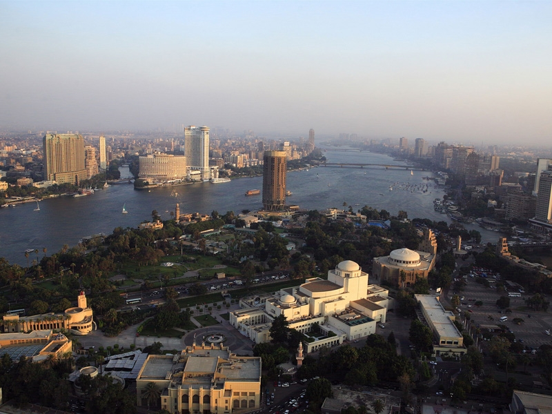 Cairo Downtown Area