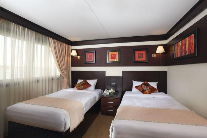 Merit Dahabeya Nile Cruise Twin Cabin