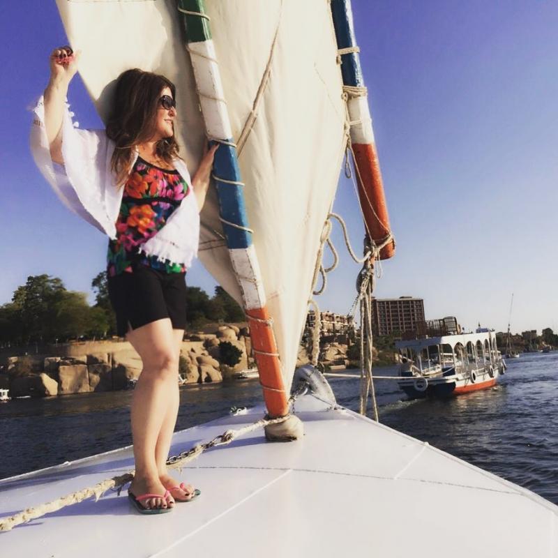 Excursión en Felucca por El Rio Nilo.