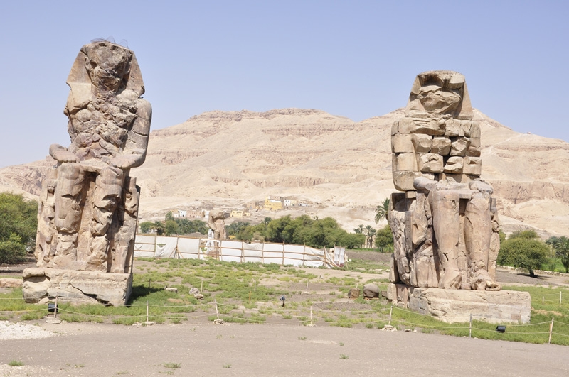 Colossi statues of Memnon in Luxor