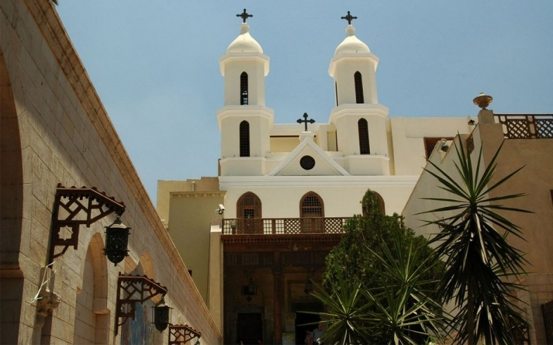 The Hanging Church at Coptic Cairo
