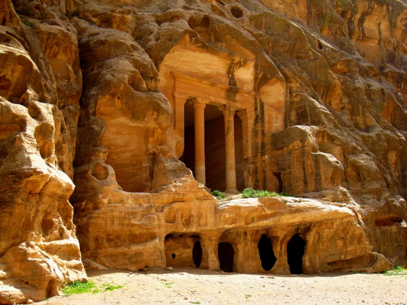 One of the Royal Tombs in petra
